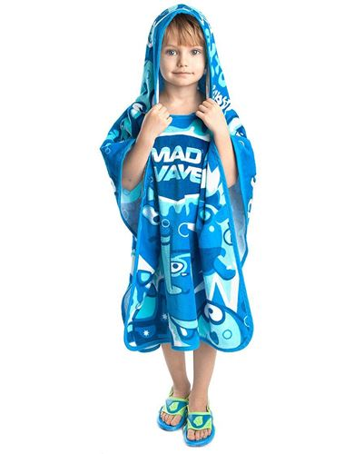 Picture of LEARNING TO SWIM - KIDS PONCHO